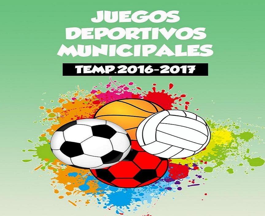 Juegos Deportivos Municipales 2016 17